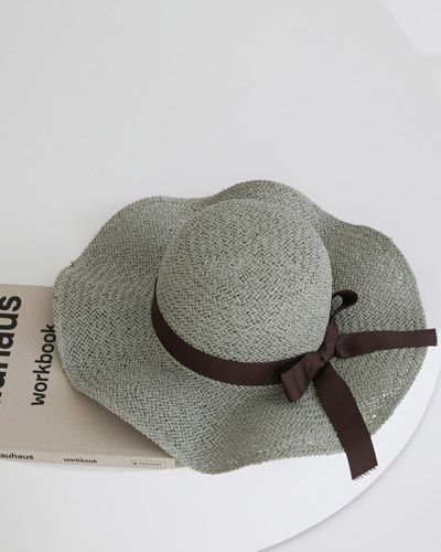 H1347/Governor Ribbon Wide Bucket Hat_3c