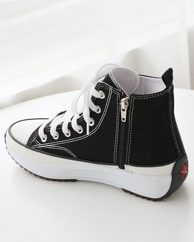 SH1077/Fabric high Sneakers_3c(230-250)